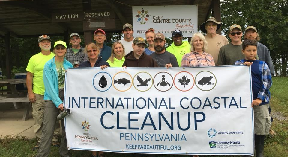 KCCB Bald Eagle State Park Clean-up 2018