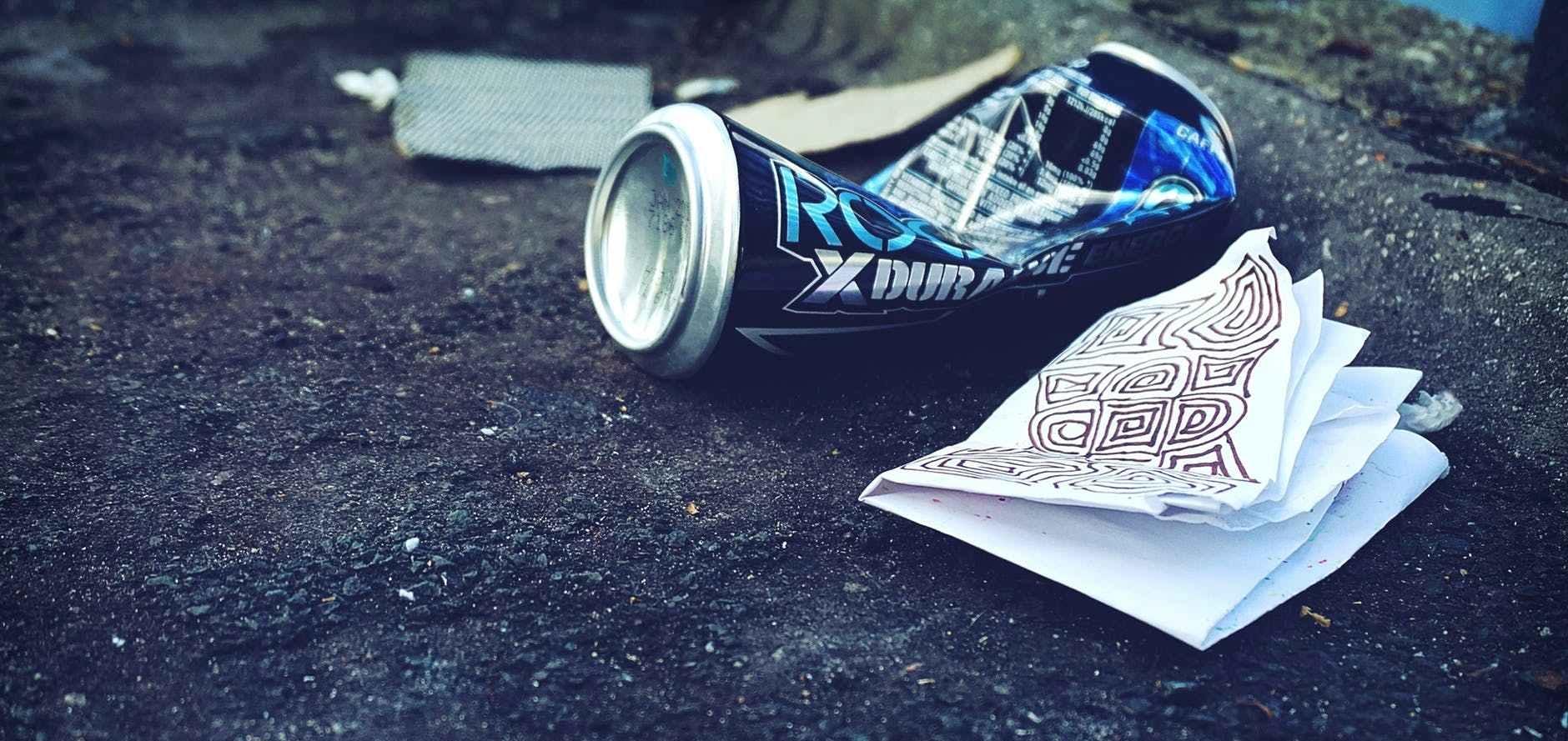 city litter